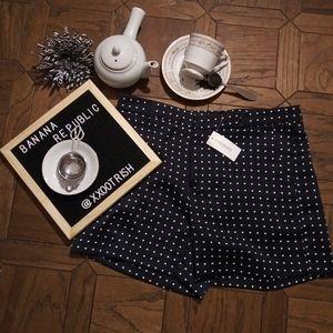 {Banana Republic} NWT Polka Dot Shorts